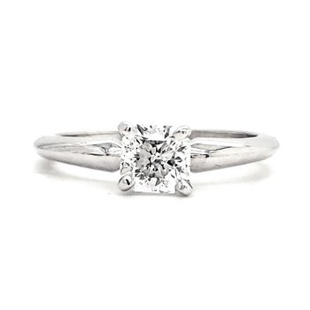 .71 CT Cushion Shape Solitaire
