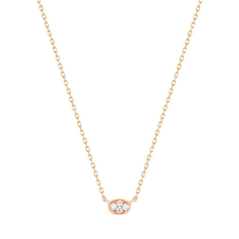 Aurelie Gi Bebe Diamond Necklace