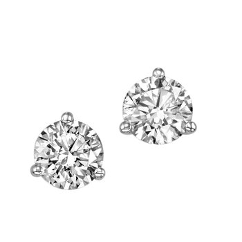 Lab Created Diamond Studs 1/2 CT to 4 CT T.W.