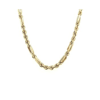 Long - Short Link Rope Chain