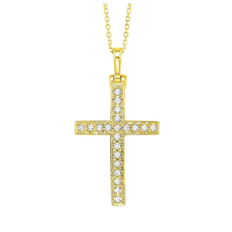 Sartor Hamann Signature Diamond Cross Pendant