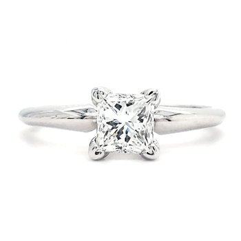.91 CT Princess Solitaire