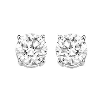 Holiday Specials! Diamond Studs in 6 Carat Weights