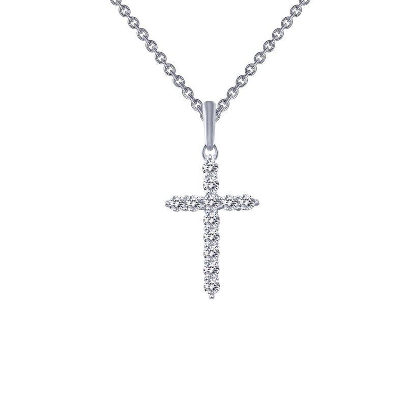 Sartor Hamann Signature Lafonn Sterling Silver Cross Pendant