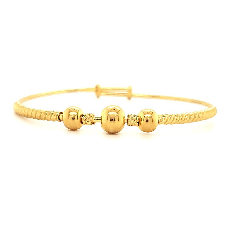 Estate Collection 22K Gold Baby Bangle