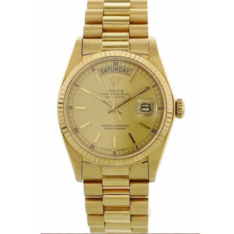 Estate Collection  Pre-Owned 18K Yellow Gold Day-Date