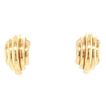 Gold Fashion Earrings