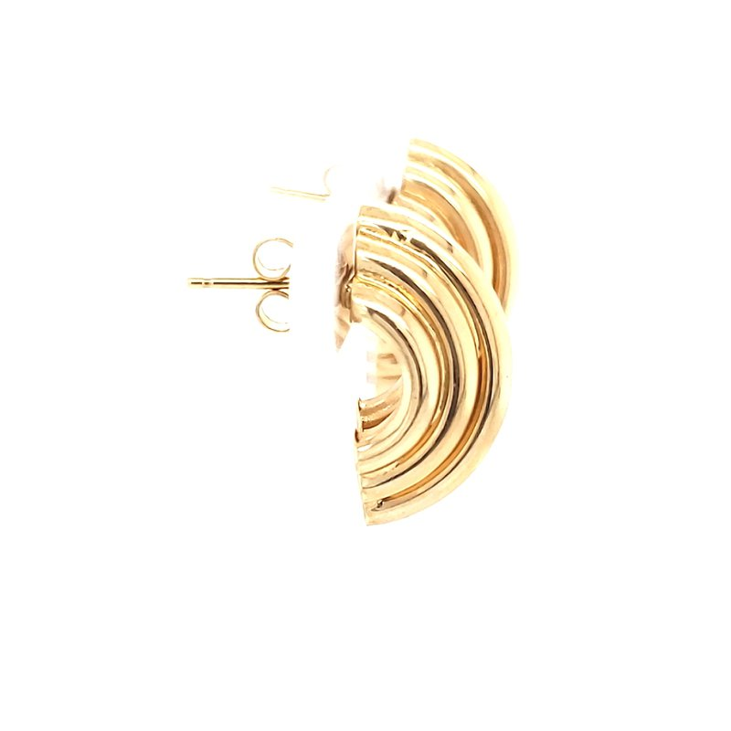 Estate Collection Gold Fashion Earrings