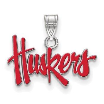 Huskers Charm Pendant