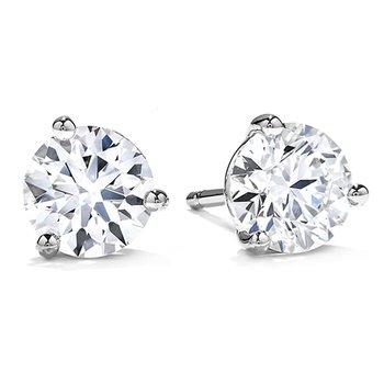 Hearts on Fire Diamond Studs 1.25 CT T.W.