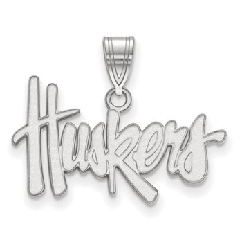 Huskers Charm Pendant in 2 sizes