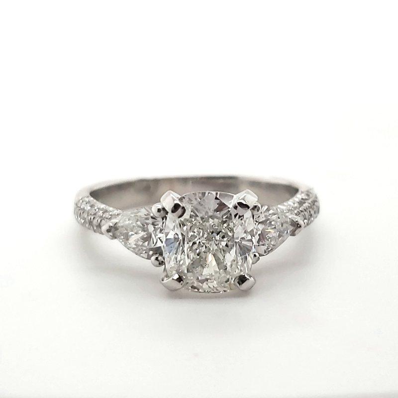 Estate Collection Platinum Engagement Ring