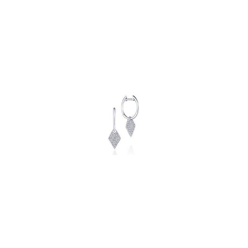 Sartor Hamann Signature Diamond Drop Earrings