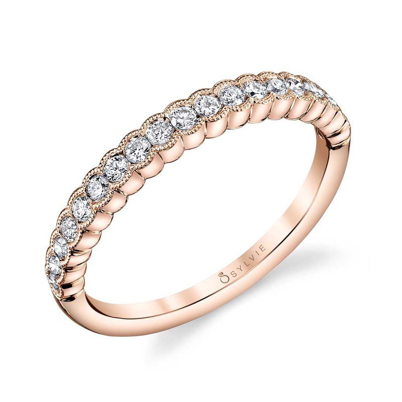 Sartor Hamann Bridal Sylvie Stackable Wedding Band