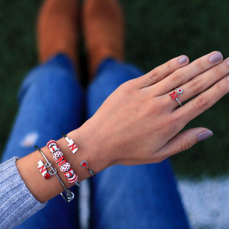 Husker Jewelry Collection Husker Bead Bracelet