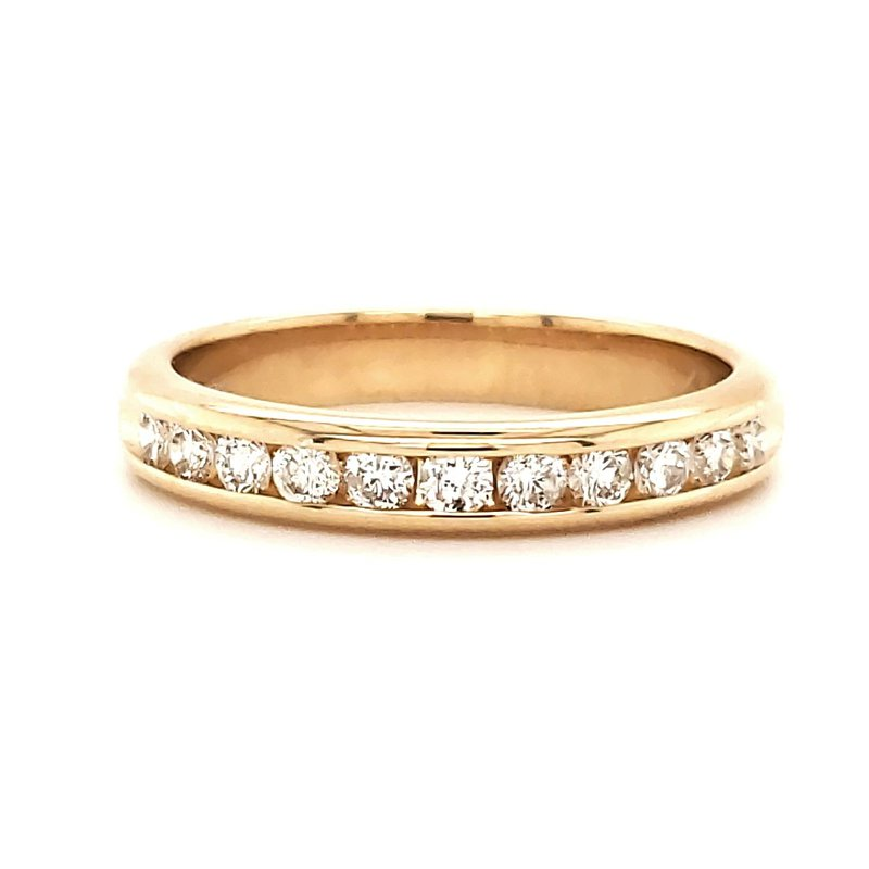 Estate Collection Channel Set Diamond Band