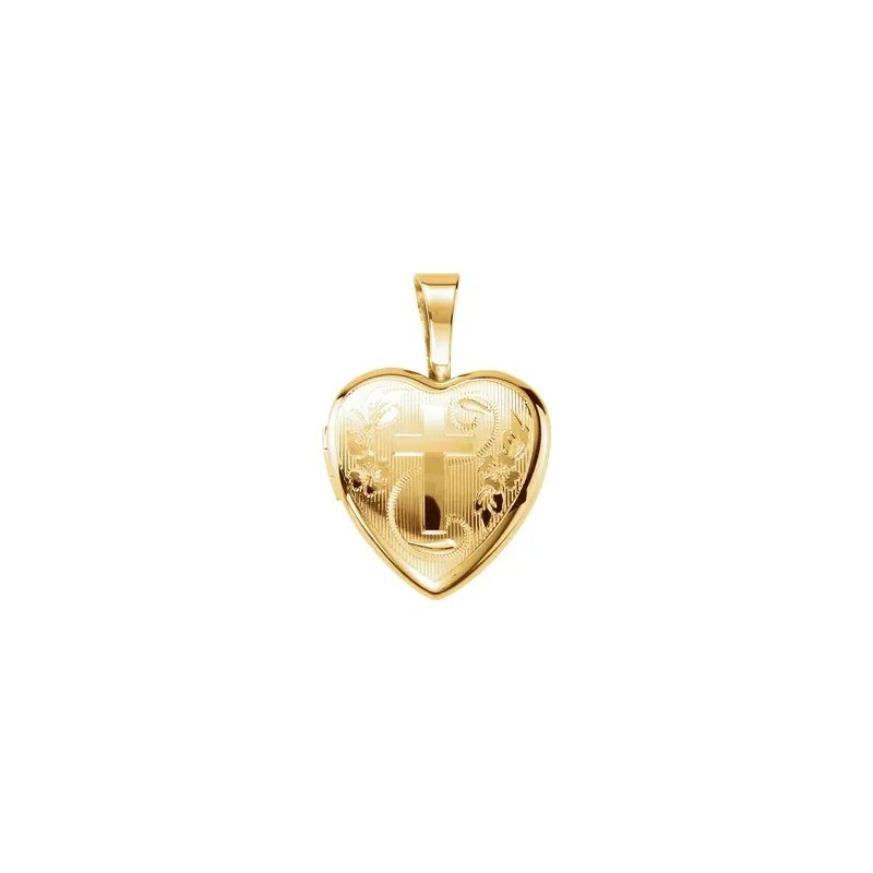 Sartor Hamann Signature Sterling Silver Heart Locket