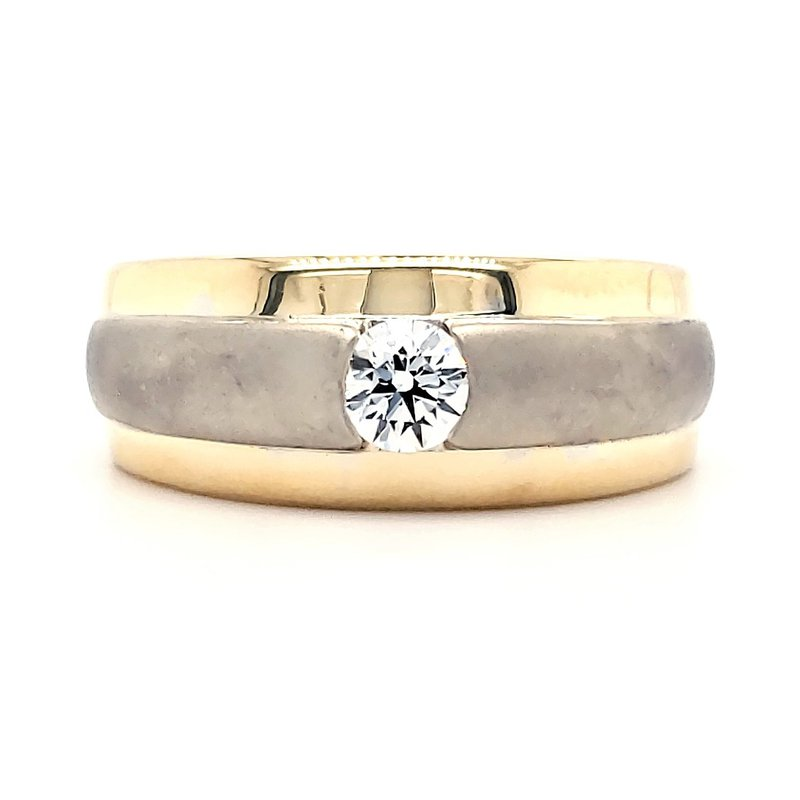 Estate Collection Men's Hearts on Fire Band