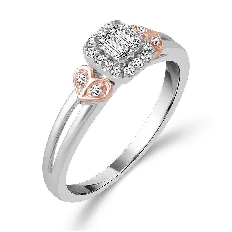 Sartor Hamann Bridal Petite Engagement or Promise Ring