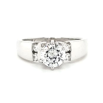 Engagement Ring Semi-Mount