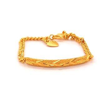 22K Gold Fashion Bracelet