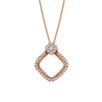 Diamond Kite Shape Pendant