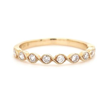 Beverley K Bezel Set Band