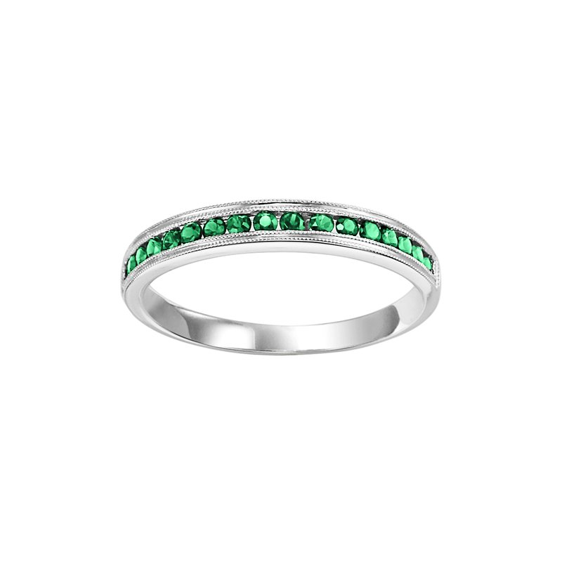 Sartor Hamann Signature Emerald Mixable Birthstone Rings in 4 Styles