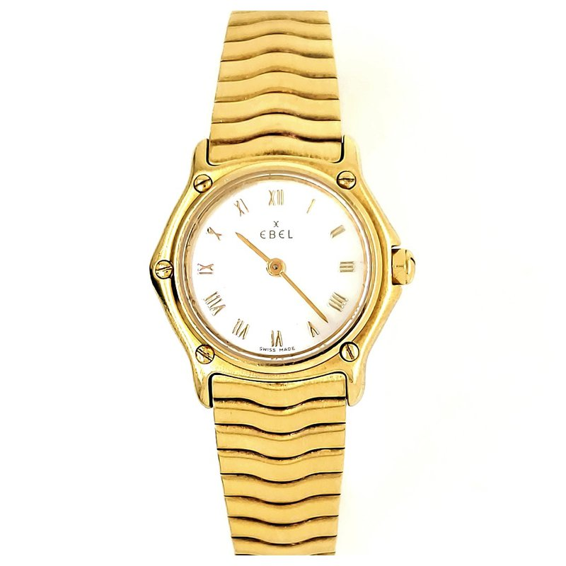 Estate Collection 18K Gold Ebel Watch
