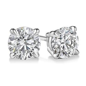 Diamond Stud Earrings - Lab Created 3.02 CT T.W.