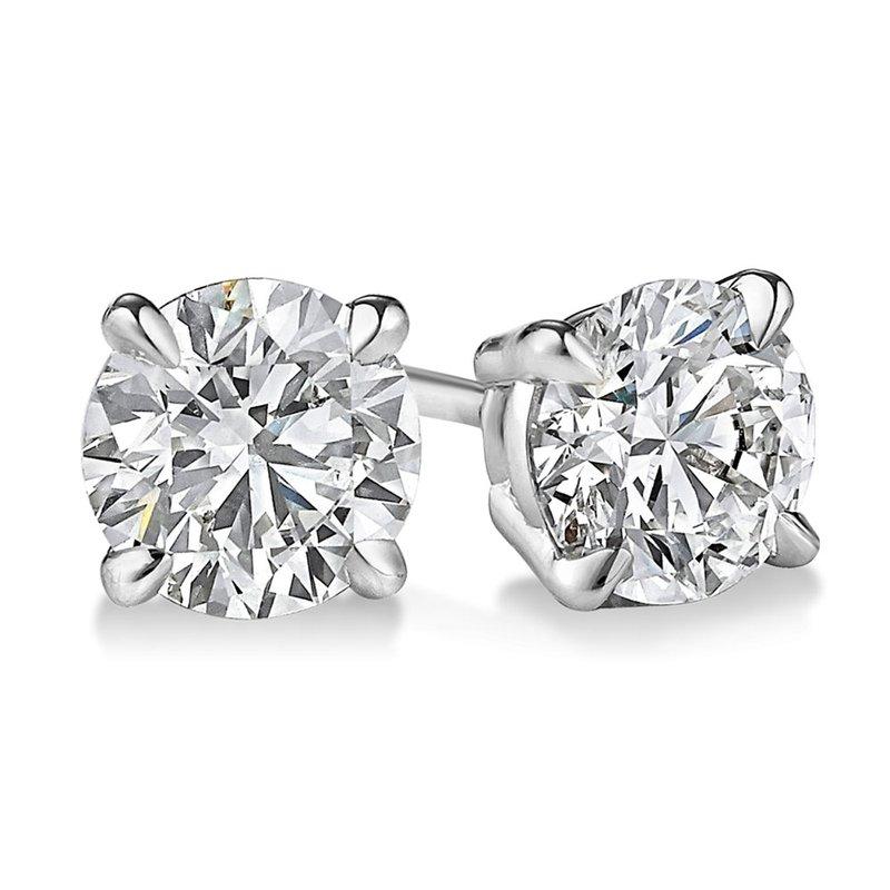 Sartor Hamann Signature Diamond Stud Earrings - Lab Created 3.02 CT T.W.