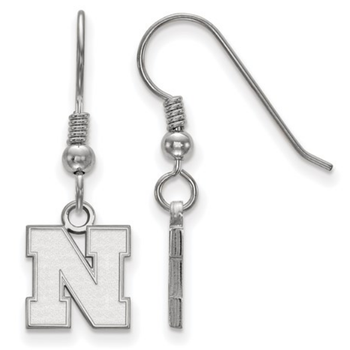 "Husker ""N"" Dangle Earrings"