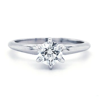 Round Solitaires - Superior Quality 1/2 CT to 5/8 CT