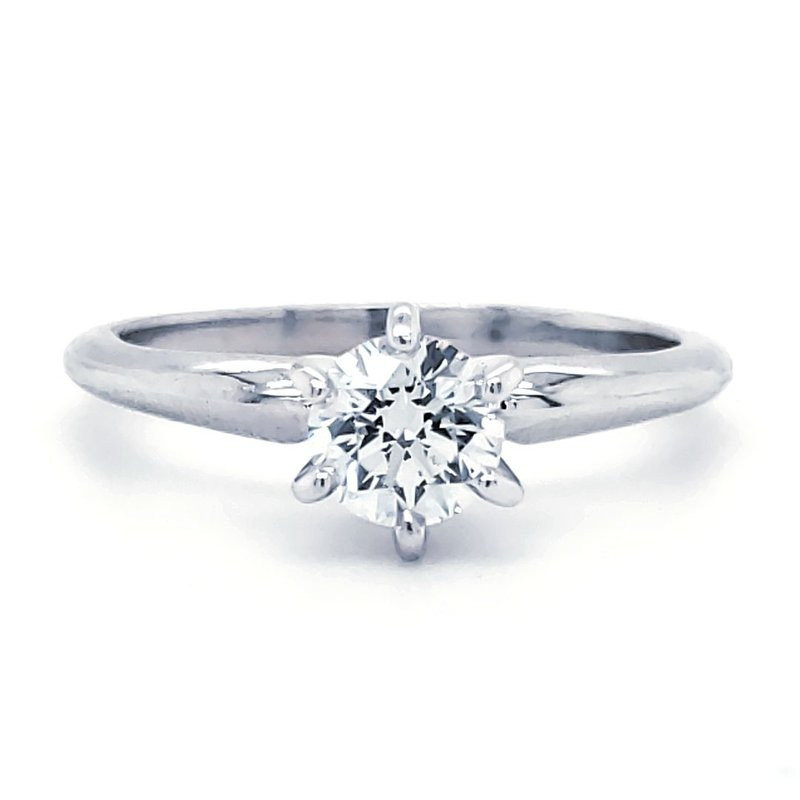 Sartor Hamann Bridal Round Solitaires - Superior Quality 1/2 CT to 5/8 CT