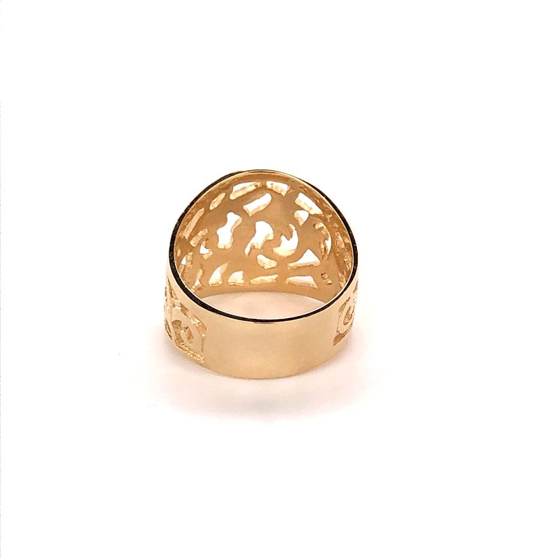 Estate Collection Open Design Fashion Ring