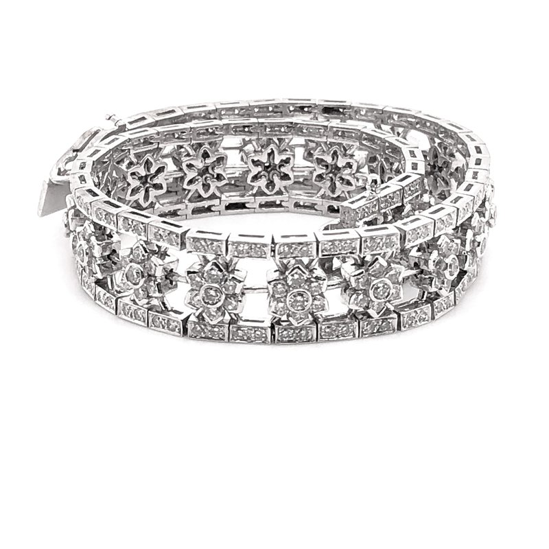 Estate Collection Vintage Diamond Bracelet