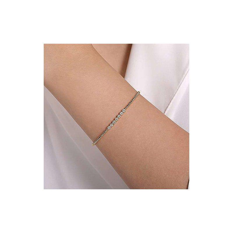 Sartor Hamann Signature Diamond Bangle Bracelet
