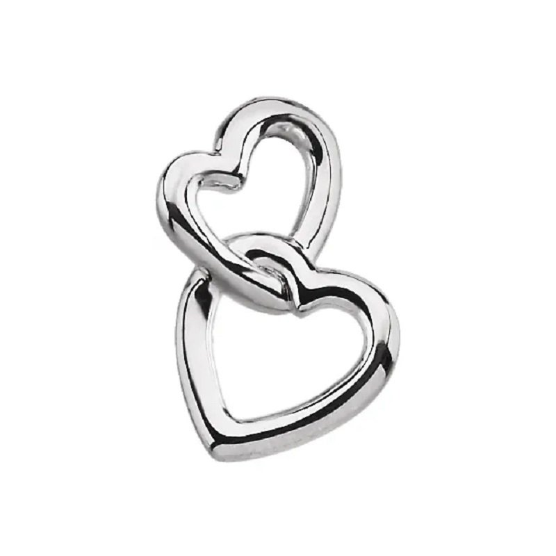 Sartor Hamann Signature Double Heart Pendant