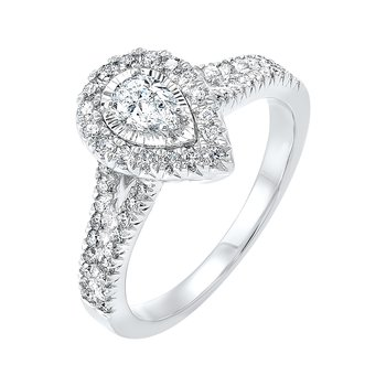 Engagement Ring in 3 Carat Weights