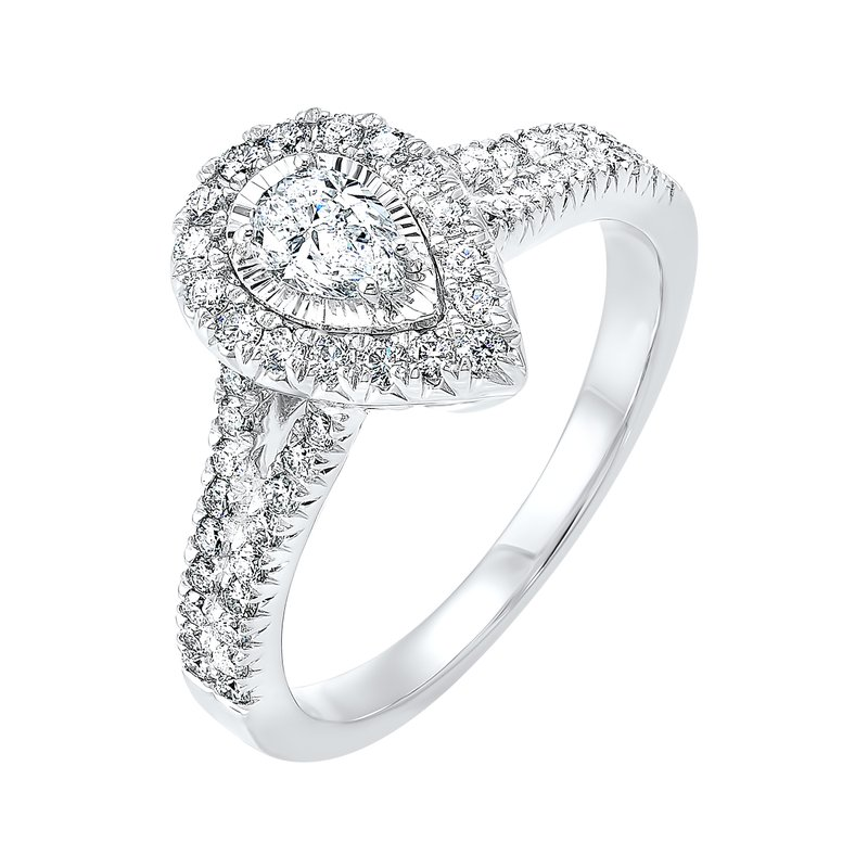 Sartor Hamann Bridal Engagement Ring in 3 Carat Weights