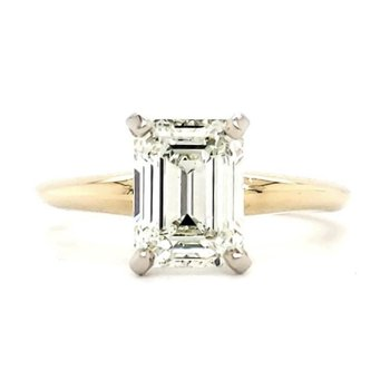 2.00 CT Emerald Cut Solitaire