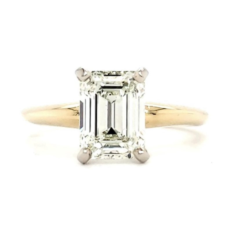 Sartor Hamann Bridal 2.00 CT Emerald Cut Solitaire