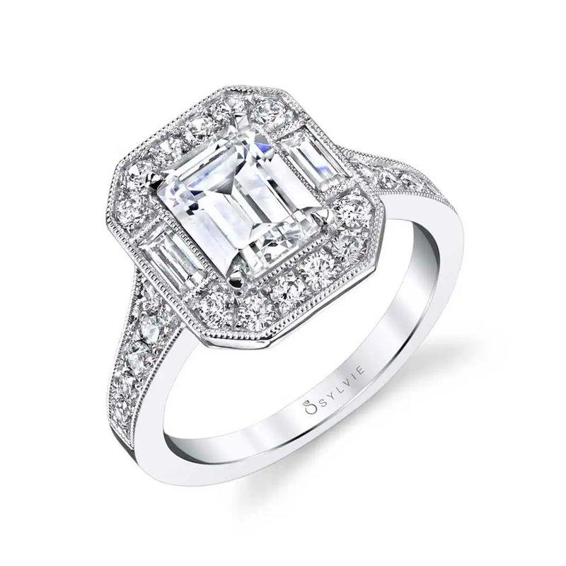 Sartor Hamann Bridal Engagement Ring Semi-Mount