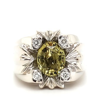 Chrysoberyl Fashion Ring