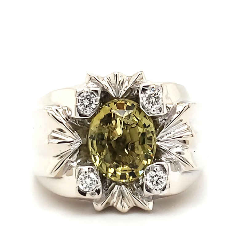 Estate Collection Chrysoberyl Fashion Ring