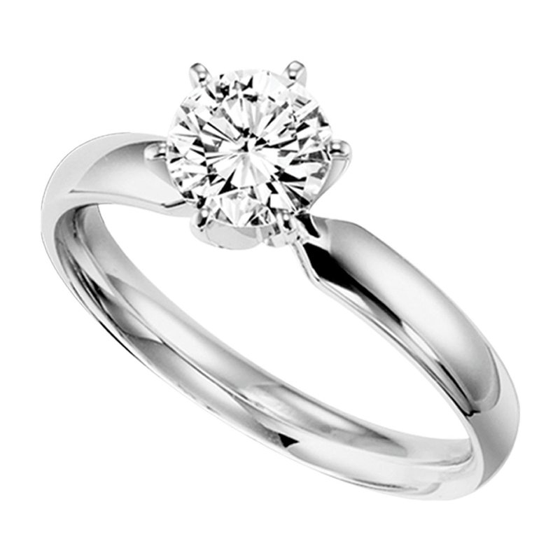 Sartor Hamann Bridal Round Solitaires - Classic Quality 1/3 CT to 1 CT