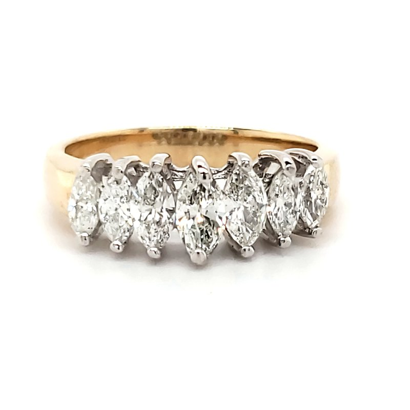Estate Collection Marquise Diamond Band