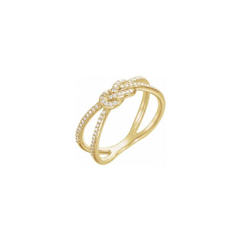 Sartor Hamann Signature 14K Yellow Gold Diamond Ring