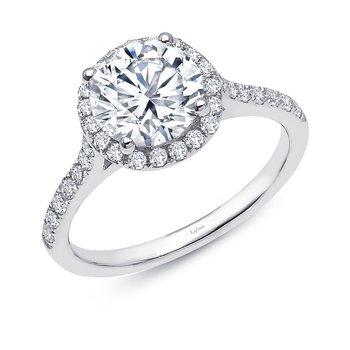 Lafonn Sterling Silver Halo Ring