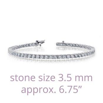 """Lafonn Sterling Silver Tennis Bracelet - 6.75"""""""